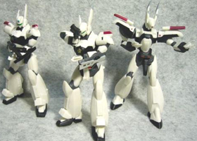 WXIII Patlabor the movie 3 Gashapon Figures